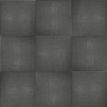 Luxe tuintegel 50x50x5 gecoat zwart